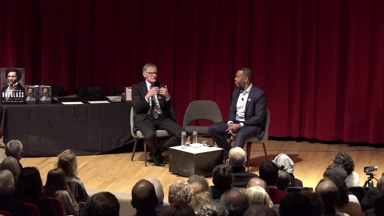 Book Talk: David W. Blight & Ta-Nehisi Coates discuss Frederick Douglass: Prophet of Freedom