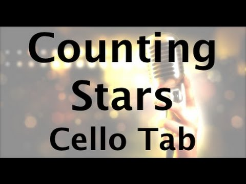 Learn Counting Stars on Cello - How to Play Tutorial