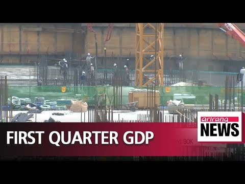South Korea's Q1 GDP revised down to 1% on-quarter