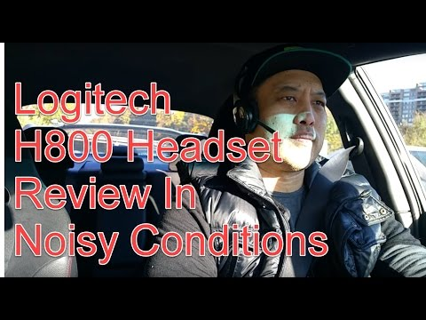 Logitech H800 Headset Review in Noisy Conditions
