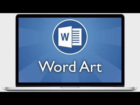 Tutoriel Word 2013 - Insérer et mettre en forme un Word Art
