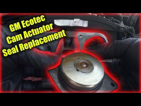 GM Ecotec Cam Actuator Seal Replacement