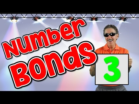 I Know My Number Bonds 3 | Number Bonds to 3 | Addition Song for Kids | Jack Hartmann