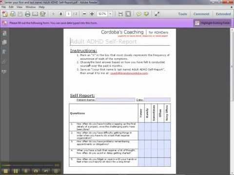 How to fill out the pdf forms