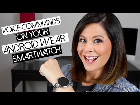 Getting Started with Android Wear Voice Commands