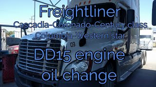 Freightliner Cascadia DD15 engine malfunction engine noise cam