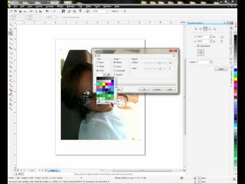Using Fade in CorelDRAW -