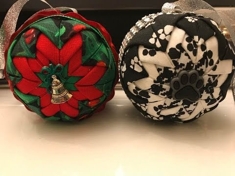 Crafting With April - NO SEW Quilted Ornament #3 of 12