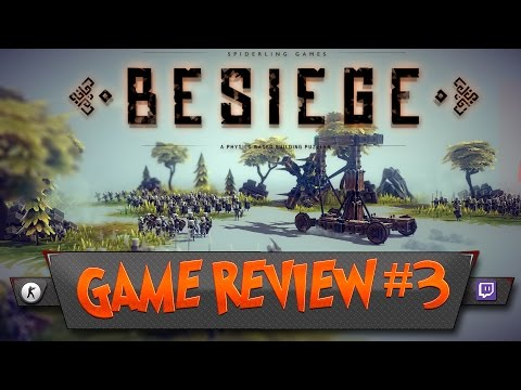 GAME REVIEW #3 ★ BESIEGE