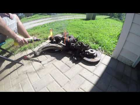 Install Polyurethane Control Arm Bushings