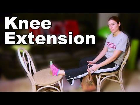 Knee Extension Improvement (Knee Straightening) - Ask Doctor Jo