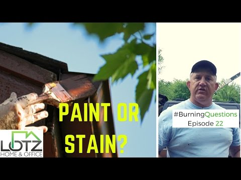 Exterior Stain or Paint - Aluminum Siding or Cedar Siding | Naperville Contractor