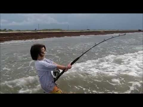 Surf Fishing for BIG Bull Sharks
