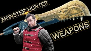 Medieval weapons nerd on MONSTER HUNTER WEAPONS, how effective would they be in real life?