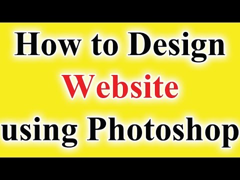 How to Design Website in photoshop