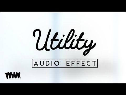 Utility // Ableton Audio Effect