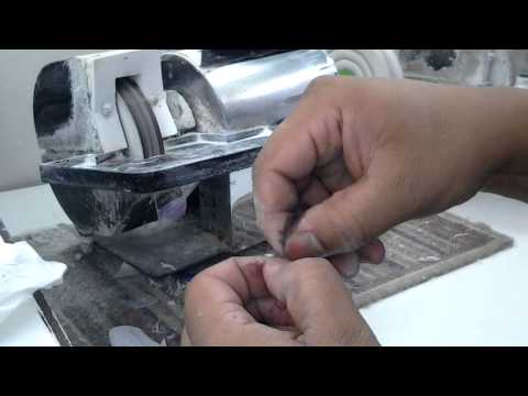 Handmade Italic Calligraphy Nib-Part 1, The Making