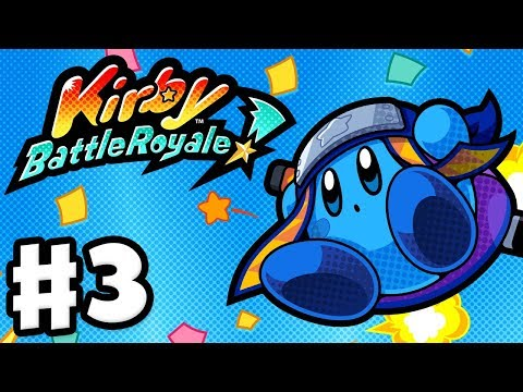 Kirby Battle Royale - Gameplay Walkthrough Part 3 - Story Mode Silver League! (Nintendo 3DS)