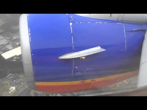 Southwest Airlines Boeing 737-700 has great landing in Baltimore