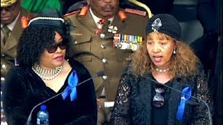 Zenani pays tribute to her late struggle stalwart mother Winnie Madikizela Mandela