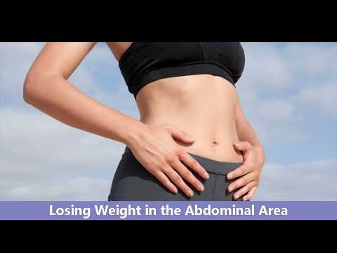 Losing Weight in the Abdominal Area  - Ways To Lose Stubborn Belly Fat