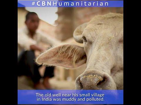 CBN Humanitarian Bings Clean Water to Those in Need