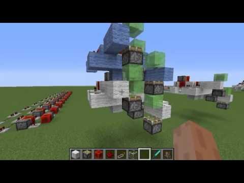 Minecraft: SlimeBlock Piston Elevator - 96 Block Up & Down