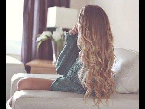 ✞ Natural Looking Tumblr Curls Tutorial ✞