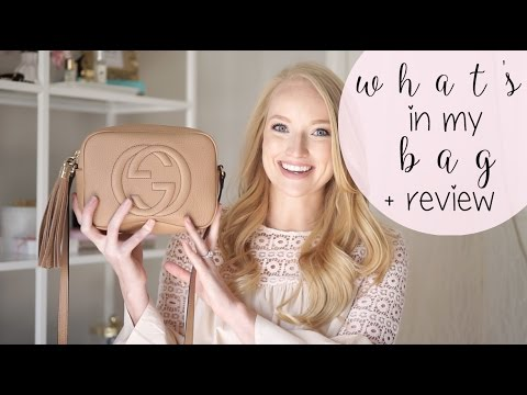 What's in my Gucci Soho Disco Bag + Review