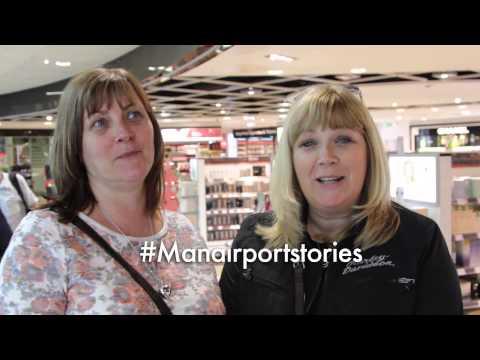 #ManairportStories - Jackie & Nicola flying to Las Vegas