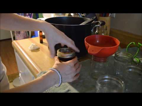 Making and Canning Brown Sugar syrup