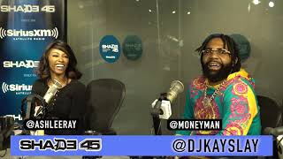 Money Man interview with Dj Kayslay at Shade45