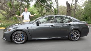 The 2020 Lexus GS-F Is a Bad New Car, But a Great Used One