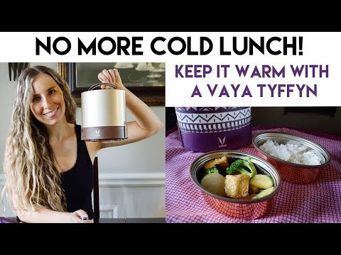 No More Cold Lunch! (Keep It Warm with a Vaya Tyffyn)