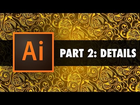 Creating your first design in Illustrator - Part 2: Details