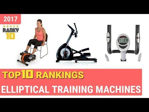 Elliptical Training Machines Top 10 Rankings, Reviews 2017 & Buying Guides