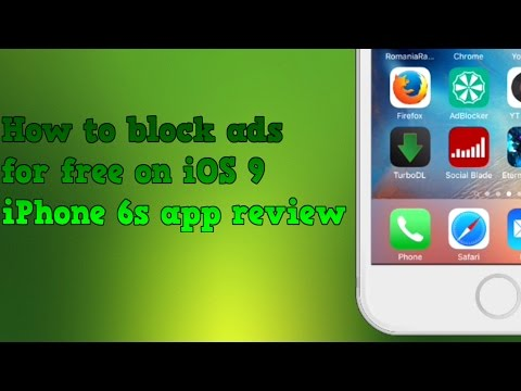 How to block ads for free on iOS 9 (Safari)  - iPhone 6s app review