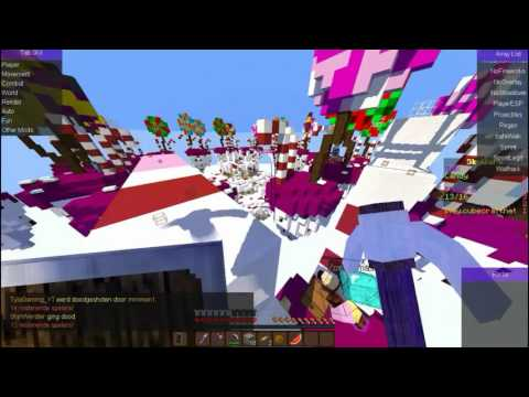 Minecraft Hack Skywars Fly,Bowboot,killaura