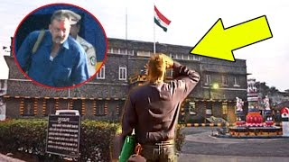 Sanjay Dutt Saluting Indian FLAG After Walking Out Pune JAIL 2016