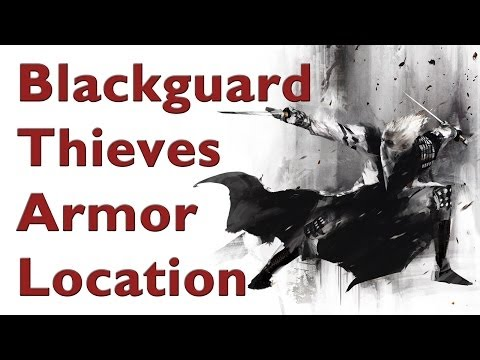 Skyrim - How to get  The Best Thieve Armor (Secret Blackguard Armor)