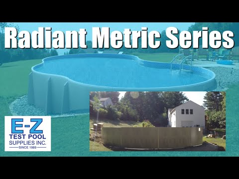 Radiant Metric Series Swimming Pool Installation & Construction 30ft Round