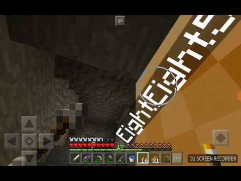 Exploring an abandoned mineshaft!!! | MCPE let's play [EP 8]