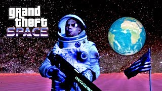 GRAND THEFT SPACE - YOU CAN VISIT OTHER PLANETS IN GTA 5! (GTA V Space Mod)