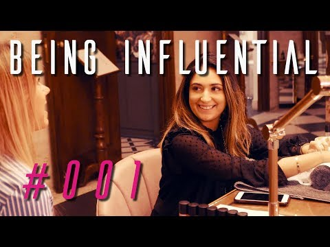 BEING INFLUENTIAL - MISS JONES PA | LONDON AUGUST VLOG #1