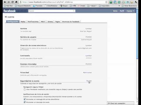 Activar HTTPS Para Facebook