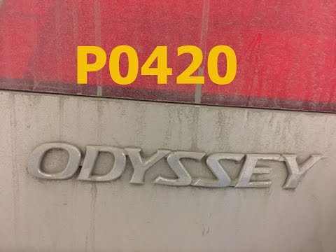 Honda Code P0420