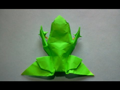 How to make Origami Frog  (michael g. lafosse)