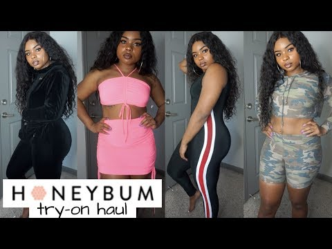 HONEYBUM, I SEE YOU!!   TRY ON HAUL