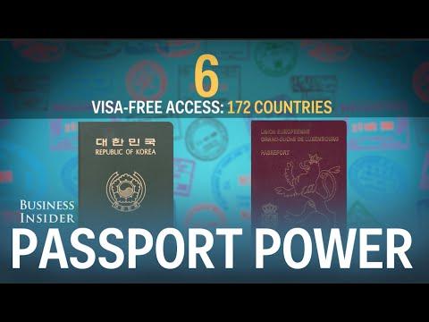 Germany has world's most powerful passport
