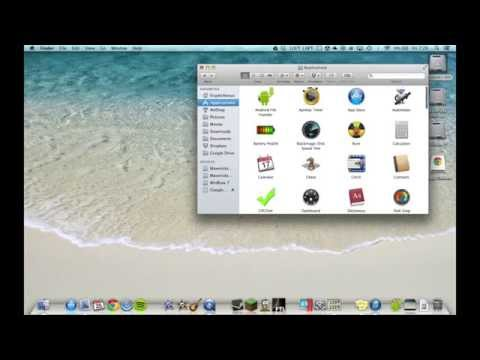How to Uninstall Applications on Mac OS X